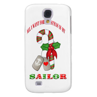 All I Want For Christmas Is My Sailor IPhone 3 Cas Samsung Galaxy S4 Cover