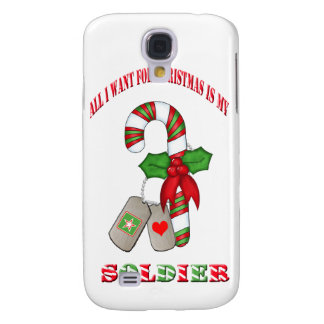 All I Want For Christmas Is My Soldier IPhone 3 Ca Samsung Galaxy S4 Covers
