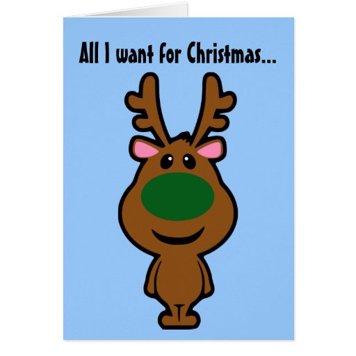 All I Want for Christmas is Plastic Surgery Card