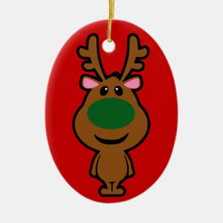 All I Want for Christmas is Plastic Surgery Double-Sided Oval Ceramic Christmas Ornament