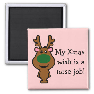 All I Want for Christmas is Plastic Surgery Magnet
