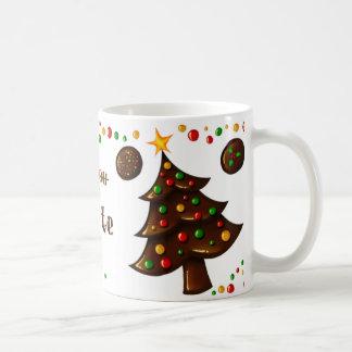 All I want for Christmas is you (Chocolate) Coffee Mug