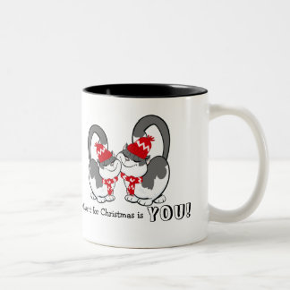 All I want for Christmas is You. Custom Gift Mugs
