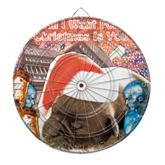 All I Want For Christmas Is You Dartboards