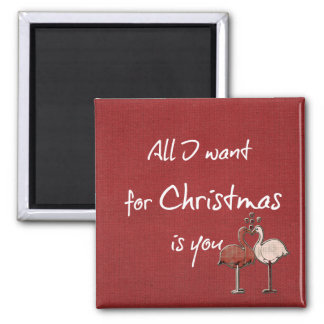 All I want for Christmas is You Magnet