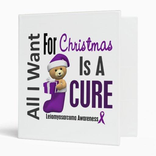 All I Want For Christmas Leiomyosarcoma Binder