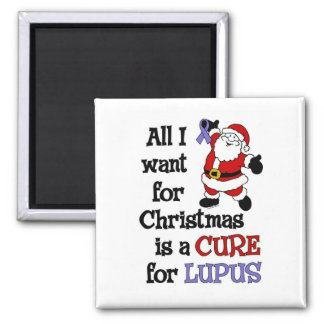 All I Want For Christmas...Lupus Magnet