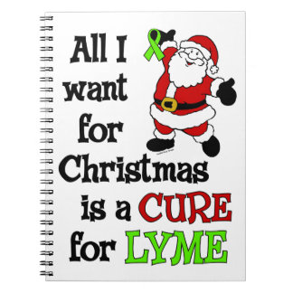 All I Want For Christmas...Lyme Notebook