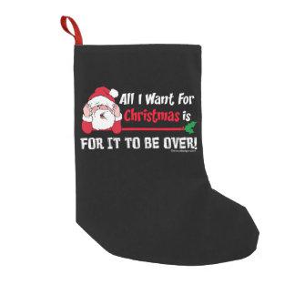 All I want for Christmas Small Christmas Stocking