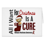 All I Want For Christmas Multiple Myeloma Card