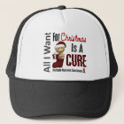 All I Want For Christmas Multiple Myeloma Trucker Hat