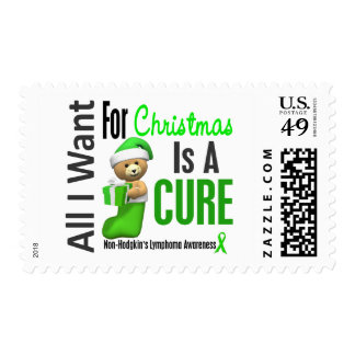 All I Want For Christmas Non-Hodgkin's Lymphoma Postage