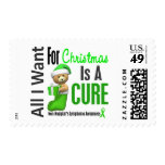 All I Want For Christmas Non-Hodgkin's Lymphoma Stamps