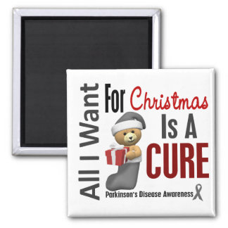 All I Want For Christmas Parkinson's Disease Magnet