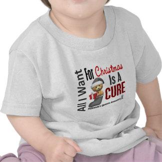 All I Want For Christmas Parkinson's Disease Tee Shirt