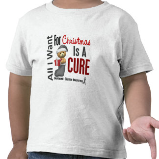 All I Want For Christmas Parkinson's Disease Tee Shirts