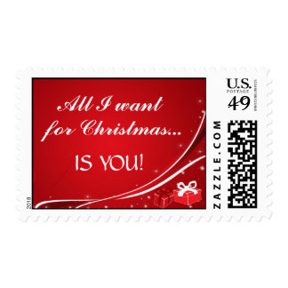 All I want for Christmas... Stamp