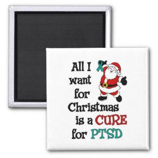 All I Want For Christmas...PTSD Magnet