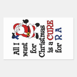 All I Want For Christmas...RA Rectangular Sticker