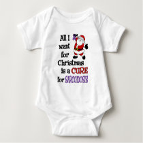 All I Want For Christmas...Sarcoidosis Baby Bodysuit