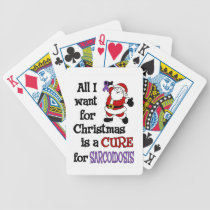 All I Want For Christmas...Sarcoidosis Bicycle Playing Cards