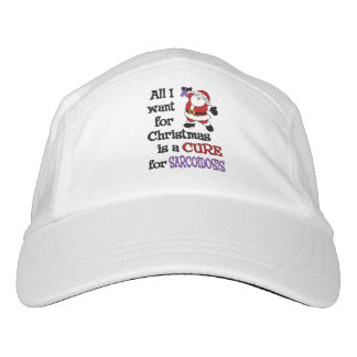 All I Want For Christmas...Sarcoidosis Headsweats Hat