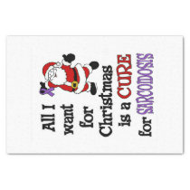 All I Want For Christmas...Sarcoidosis Tissue Paper