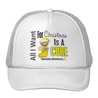 All I Want For Christmas Sarcoma Hat