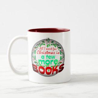 All I want for Christmas Two-Tone Coffee Mug