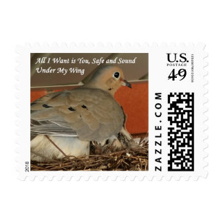 All I Want is You Holiday Postage Stamp
