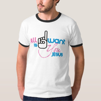 All I Want is You Jesus (Male Short Sleeved Tee) Tee Shirt