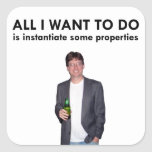 All I Want To Do Sticker