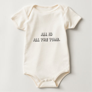 ALL ID - ALL THE TIME. BABY BODYSUIT