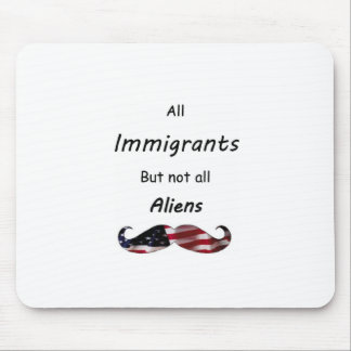 All Immigrants Mouse Pads