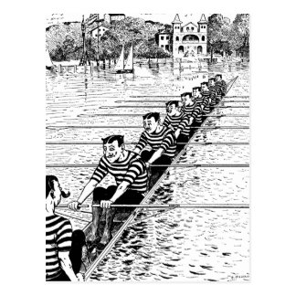 All In A Row Post Card