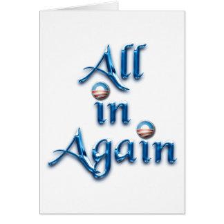 All in Again Card
