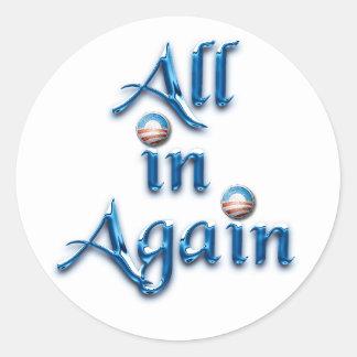 All in Again Sticker