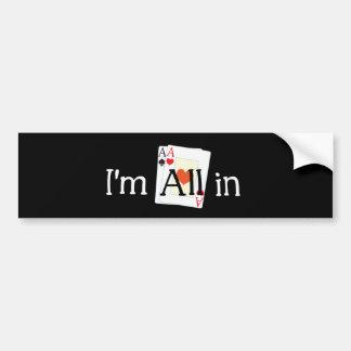 All In Bumper Stickers