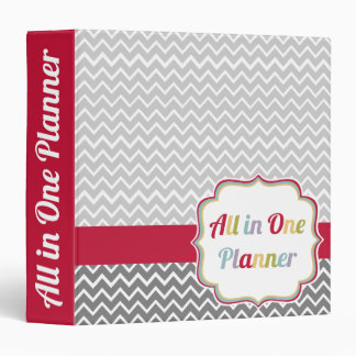 All In One 3-Ring Binder Planner