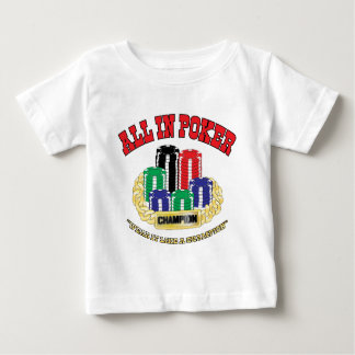 All In Poker Baby T-Shirt