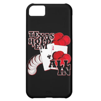 All in texas holdem iPhone 5C cover