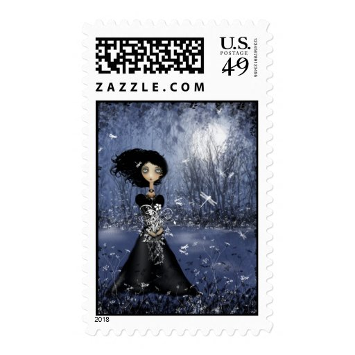 All In The Moment Postage Stamp