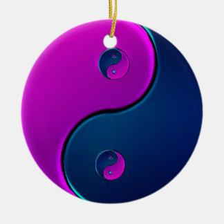 All Inclusiveness Yin-Yang Holiday Ornament