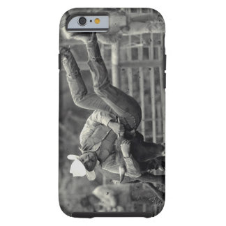 All Indian Rodeo in Tygh Valley, Oregon. Clint Tough iPhone 6 Case