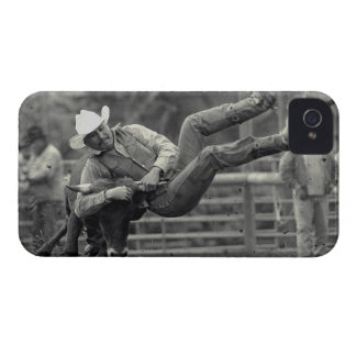 All Indian Rodeo in Tygh Valley, Oregon. Clint iPhone 4 Case-Mate Case
