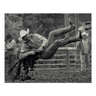 All Indian Rodeo in Tygh Valley, Oregon. Clint Poster