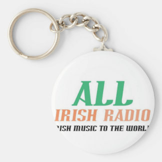 All Irish Radio Keychain