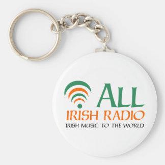 All Irish Radio New Logo Key Chain