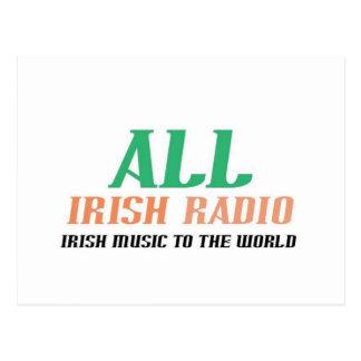 All Irish Radio Postcard
