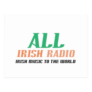 All Irish Radio Postcard